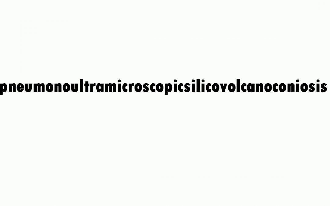 """أطول كلمة في اللغة الإنجليزية هي """"Pneumonoultramicroscopicsilicovolcanoconiosis"""" تشير إلى مرض رئوي يعرف باسم السحار السيليسي وتتكون من 45 حرف"""