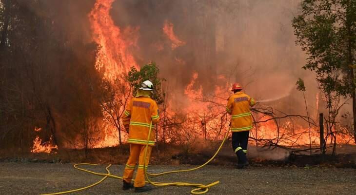 إعلان حالة الطوارئ في الساحل الشرقي لأستراليا بسبب حرائق الغابات