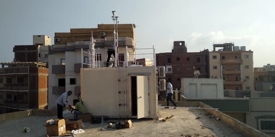 وزيرة البيئة المصرية : تركيب أول محطة لحظية لرصد ملوثات الهواء المحيط بالبحيرة