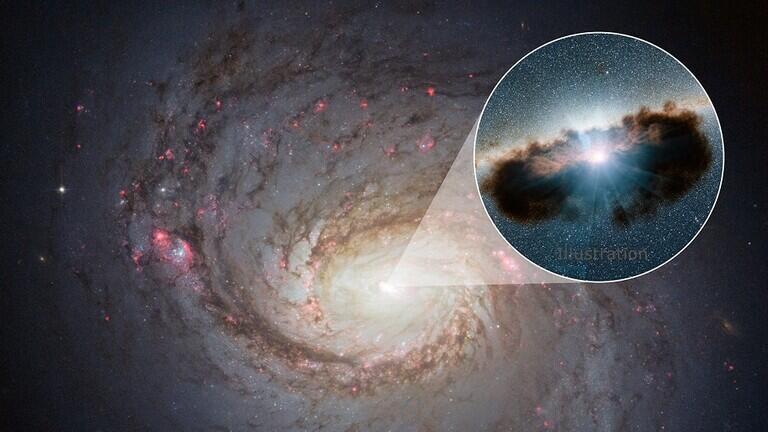 تلسكوب أمريكي يقيس وزن الثقب الأسود الواقع في وسط درب التبانة