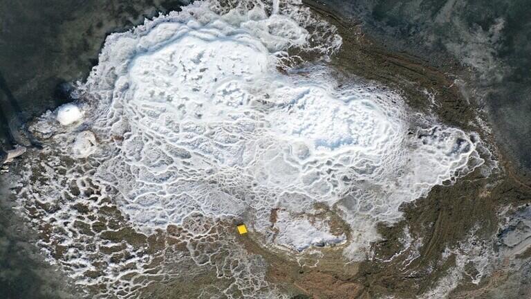 تلال غريبة من معدن بلوري في ولاية أمريكية توحي بحياة على المريخ