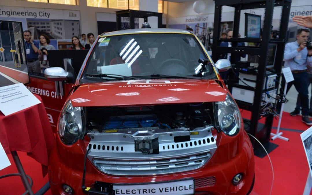 أرمينيا تعلن عن أول سيارة إلكترونية بدون سائق من إنتاجها