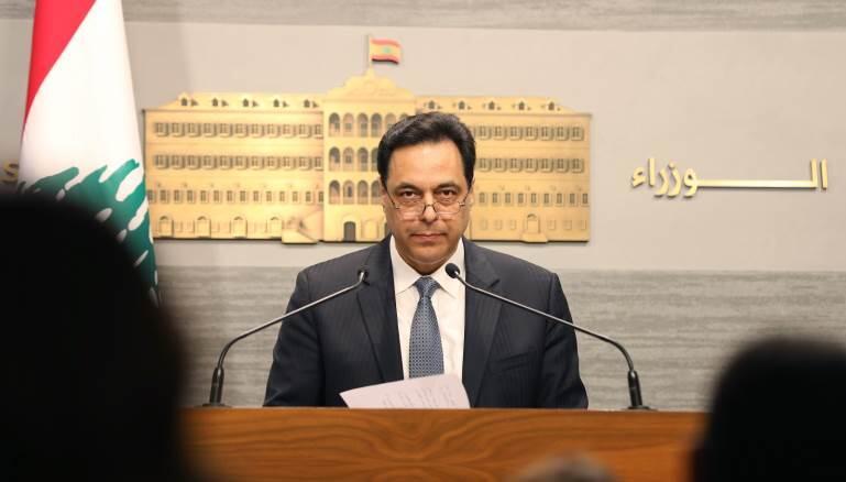 دياب: لا نستطيع اجراء اي استثناء للبنانيين بالخارج قبل نهاية فترة التعبئة العامة