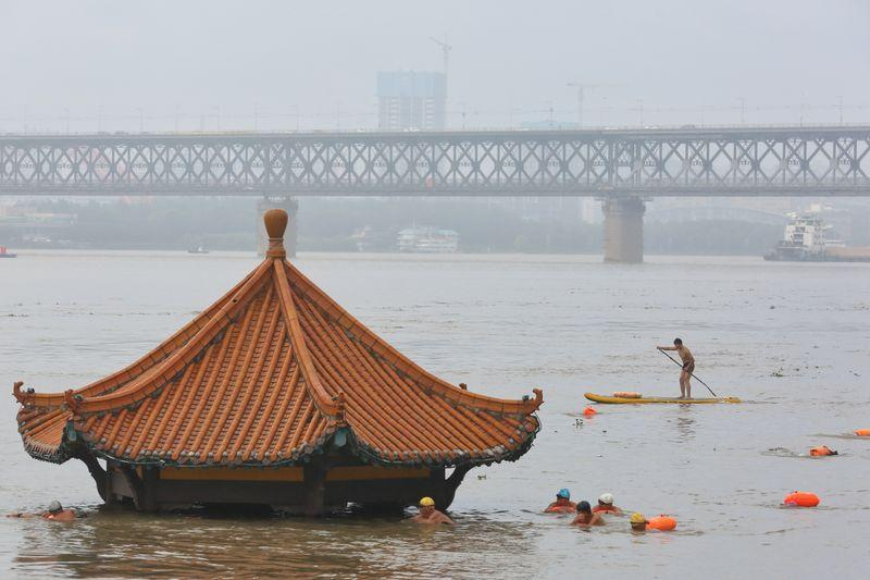 ارتفاعات قياسية لمناسيب المياه في 33 نهرا بالصين