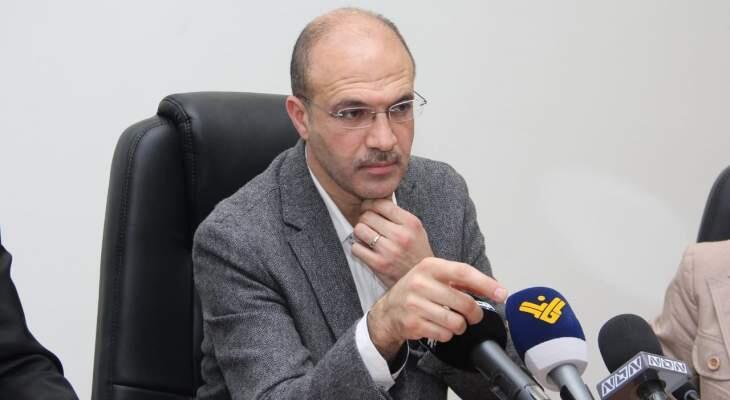 """حسن بعد اجتماع """"اللجنة العلمية"""": أوصينا بإقفال البلد لمدة أسبوعين باستثناء المطار"""