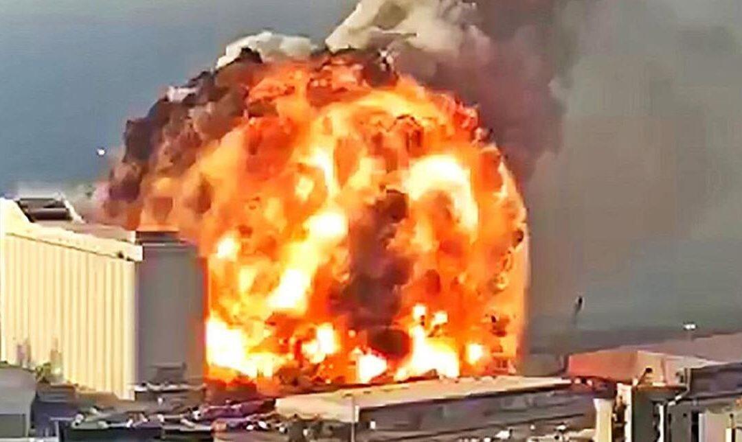 حركة الهواء انقذت نفس الناس من سموم الانفجار في مرفأ بيروت و التداعيات البيئية خطرة
