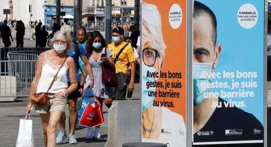 فرنسا: تسجيل حصيلة قياسية لإصابات كورونا بأكثر من 20 ألف حالة