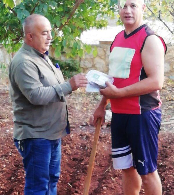 اطلاق المرحلة الأولى من مشروع الحاكورة الزراعية الشتوية في صيدا