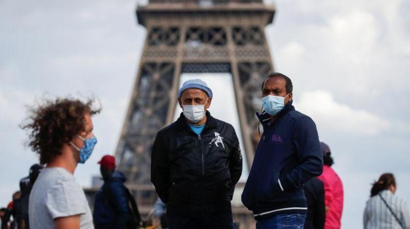 فرنسا: ارتفاع حالات الإصابة والوفيات الجديدة بكورونا