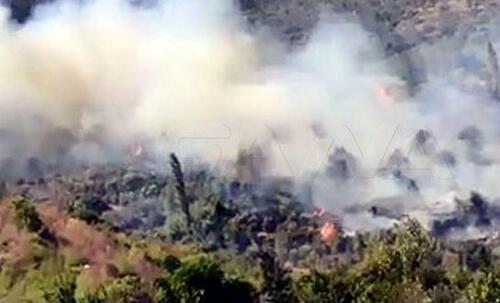 حريق في طرطوس