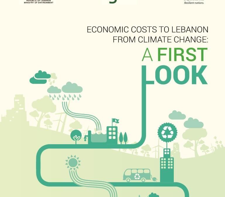 التداعيات الاقتصادية لتغير المناخ على لبنان