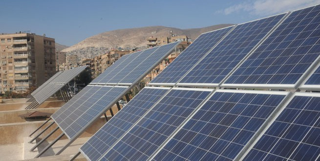 Investing in renewable energies in Syria