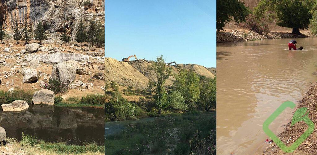 تلوُّث نهر الليطاني… ليعالج الصناعيون نفاياتهم السائلة