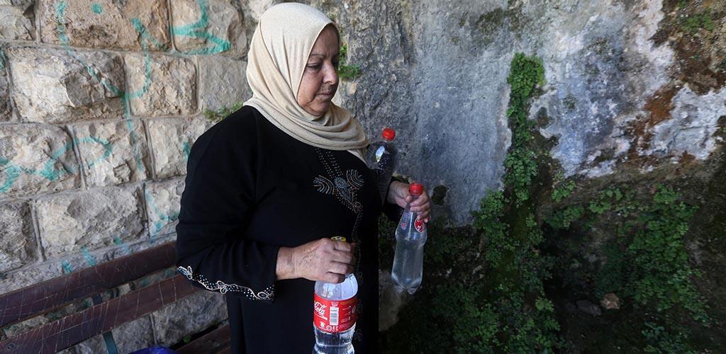 العطش يهدد الضفة الغربية المحتلة
