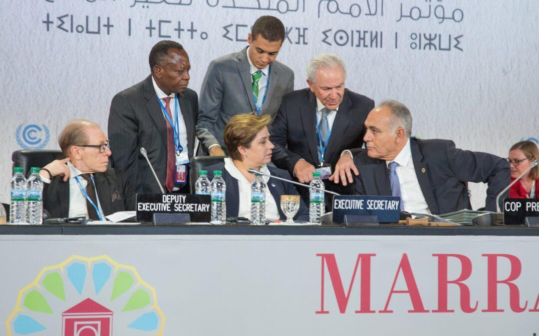 نتائج مؤتمر COP22 أظهرت الاتجاه الذي لا رجعة فيه للعمل من أجل المناخ