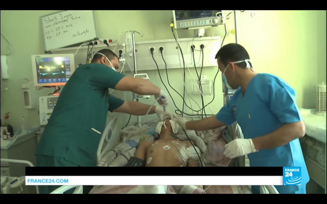 Vidéo : à Erbil, les hôpitaux débordés par les blessés de Mossoul