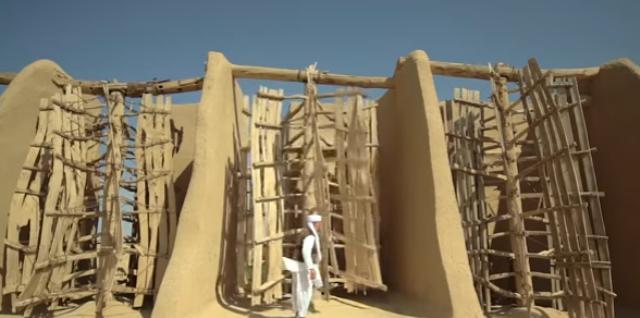 Moulin à vent de 1000 ans