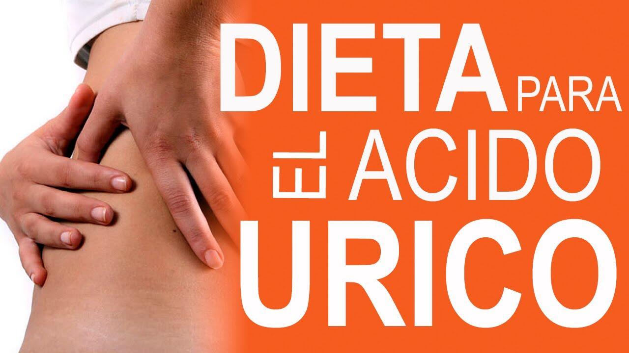 dieta para personas que tienen el acido urico elevado