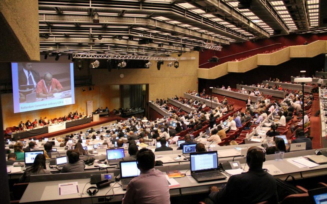 الإتفاقيات الكيميائية الدولية… مؤتمرات هامة في جنيف الأسبوع القادم