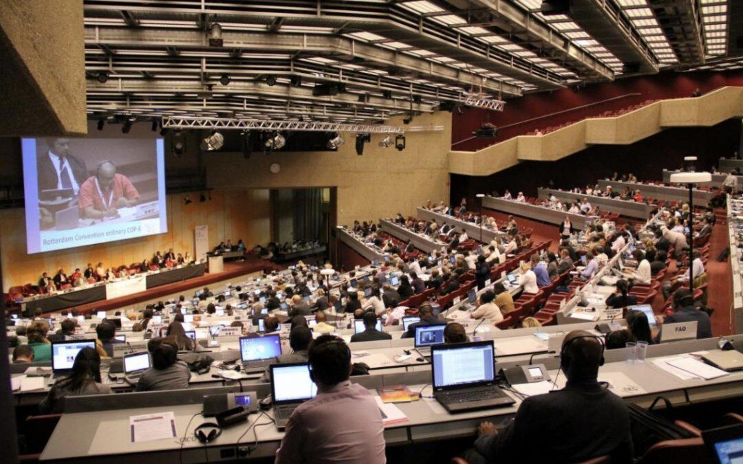 تراجع واضح في فعالية الإتفاقيات الكيميائية الدولية لحماية البيئة والصحة البشرية