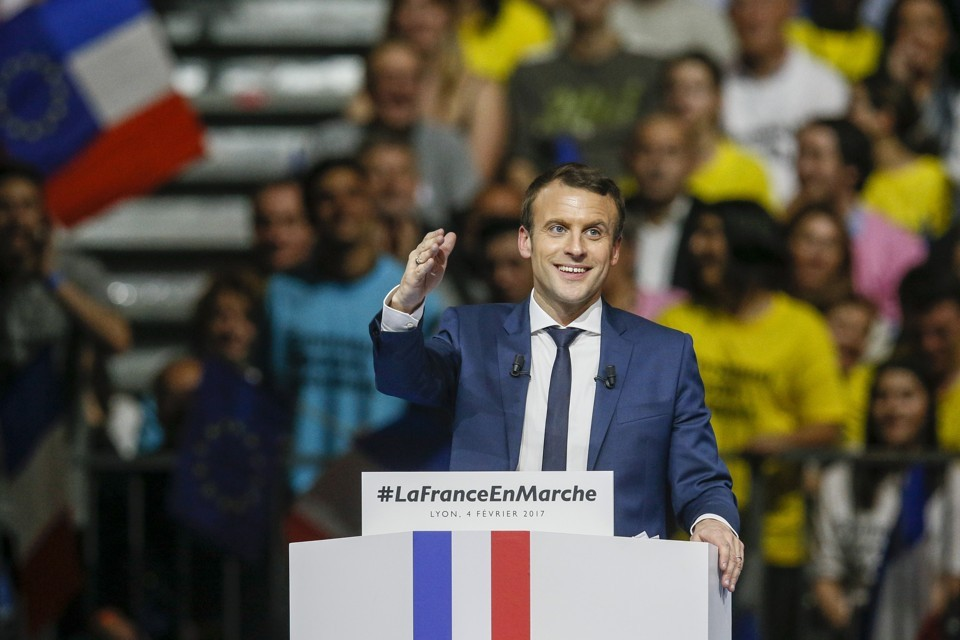 EMMANUEL MACRON APRES SA RENCONTRE AVEC TRUMP / DÉCLARATION SUR L'ACCORD DE PARIS