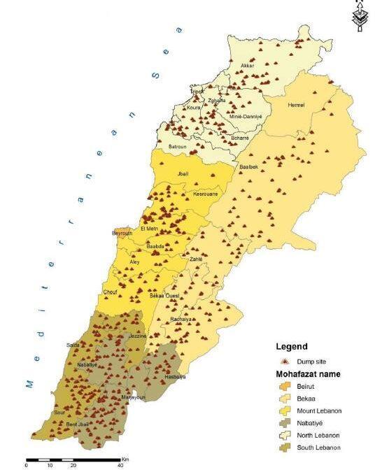 لا قيمة للوقت في لبنان، إدارة النفايات والسياسة المطلوبة مثالاً (2)