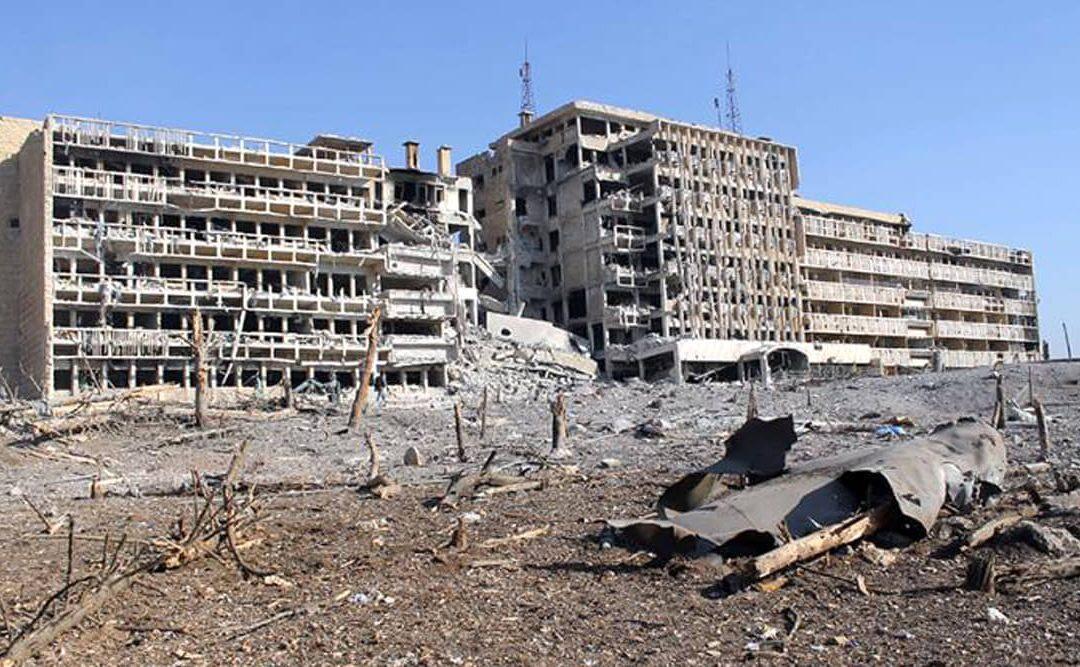 إعادة إعمار سوريا والإدارة البيئية: التلوث الكيميائي