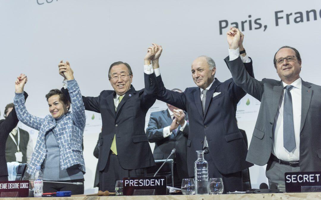 مؤتمر تغير المناخ بعهدة جزر المحيط الهادي، إتفاقية باريس بألف خير