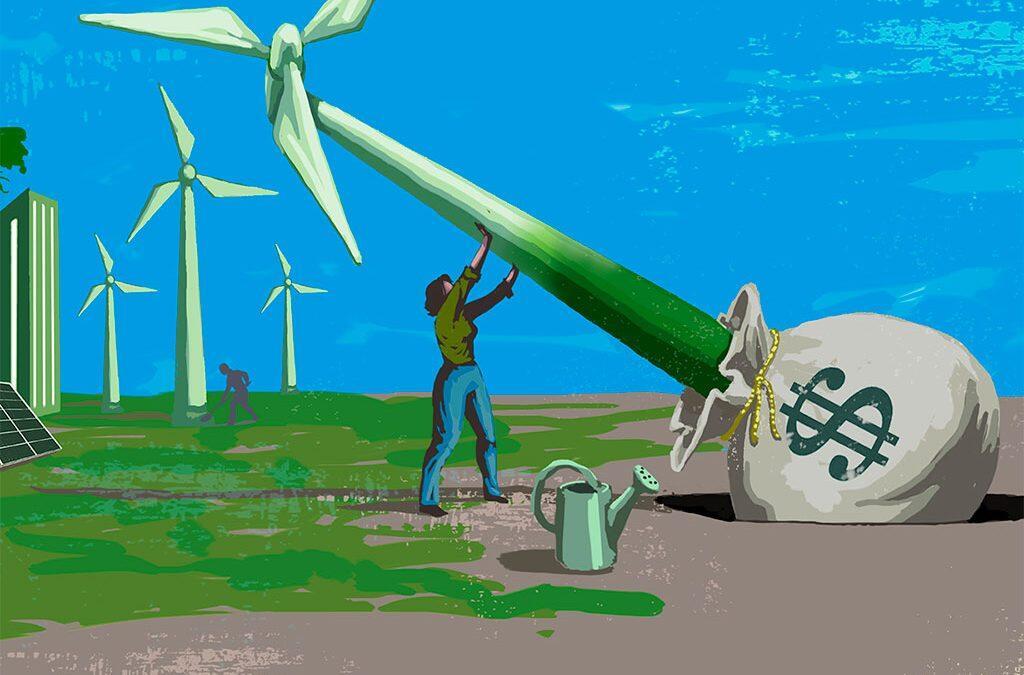 """إصدارات""""غرين بوند"""": تسجّل مستوى قياسي وعوائدها تستخدم لتمويل المشاريع الخضراء"""