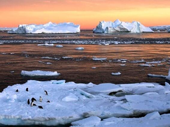 ذوبان الجليد نتيجة إرتفاع درجة حرارة الأرض يهدد بإيقاظ الفيروسات القاتلة
