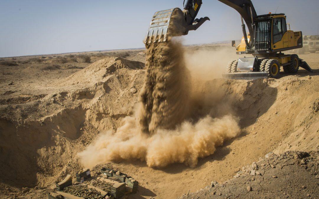 البحث عن إستخراج الرمل المستدام : خمسين مليار طن يستخدم في جميع أنحاء العالم سنوياً