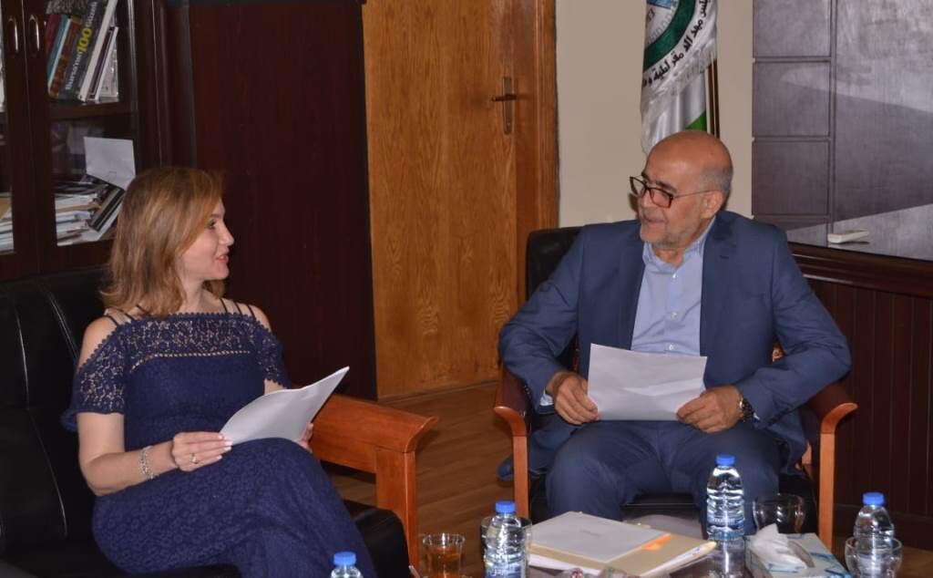 جمالي زارت بلدية طرابلس مهنئة وعرضت مشروع الادارة المستدامة للنفايات المنزلية في مدن الفيحاء