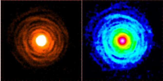 Descubiertas dos nuevas sustancias portadoras de magnesio en una estrella moribunda