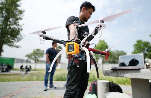 Crean un dron capaz de localizar a víctimas de inundaciones, sismos e incendios