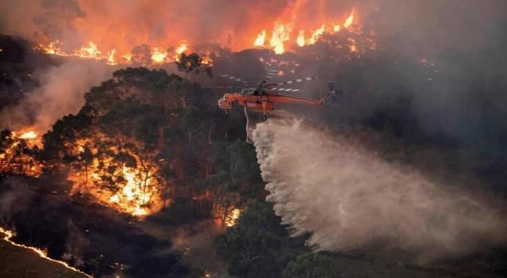 عواصف رعدية تجتاح ساحل أستراليا الشرقي الذي دمرته حرائق الغابات