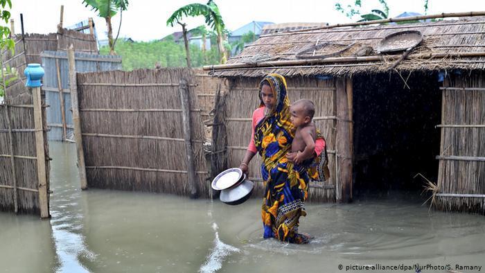 تغير المناخ  يؤدي إلى مزيد من العنف ضد النساء!