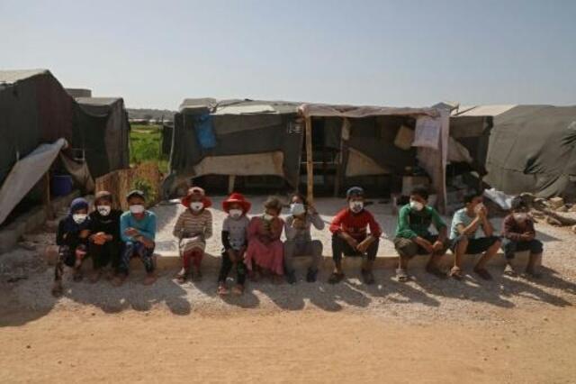 اليونيسيف: الأطفال النازحون داخليّاً من أشدّ الفئات تأثّراً بفيروس كوفيد-19