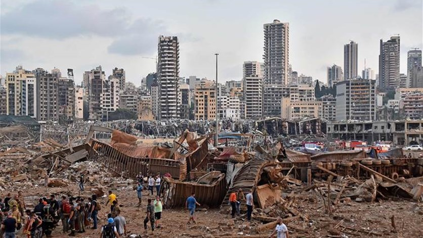 المجموعات الدوليّة تقيّم أضرار إنفجار مرفأ بيروت
