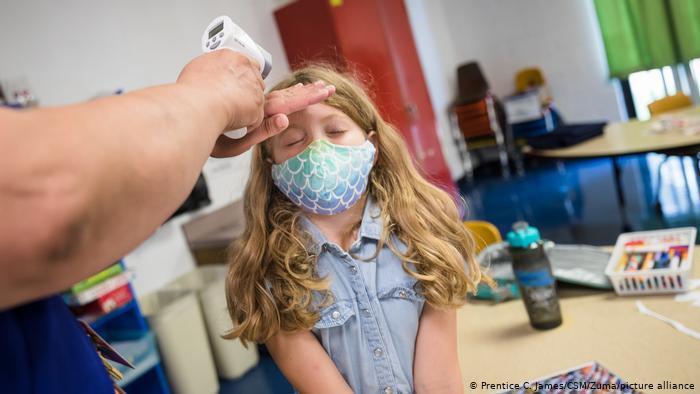إصابة أكثر من مليوني طفل في الولايات المتحدة بفيروس كورونا المستجد