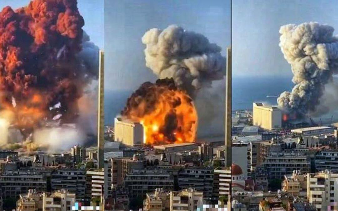 """انفجار بيروت أدى إلى اضطراب في  طبقة """"الأيونوسفير""""!!!!"""
