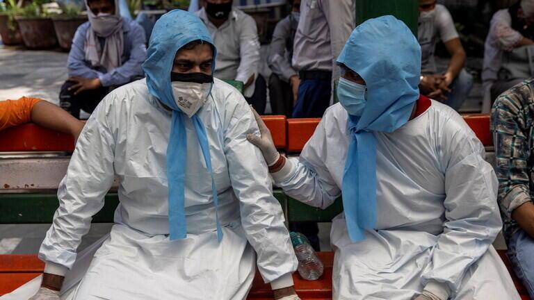 """كورونا """"يخنق الهند"""" وإمدادات أوكسجين من 40 دولة"""