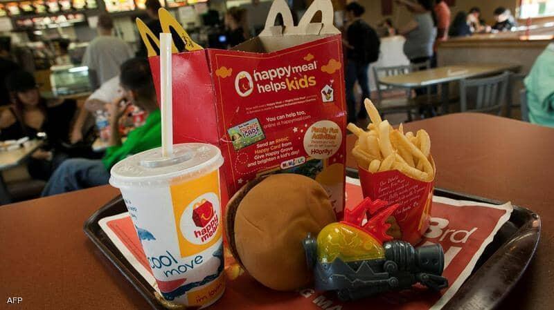 """""""ماكدونالدز"""" تبدأ تدريجياً باستبدال الألعاب البلاستيكية المقدمة مع وجبات الأطفال"""