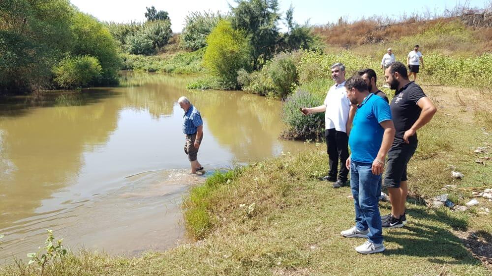 رئيس بلدية السماقية تفقد مجرى النهر الكبير: آن الآوان لحل جذري وانقاذ الحقول الزراعية والمنازل