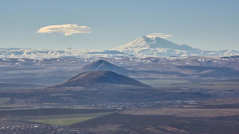 مخاطر صحوة البراكين النائمة في القوقاز