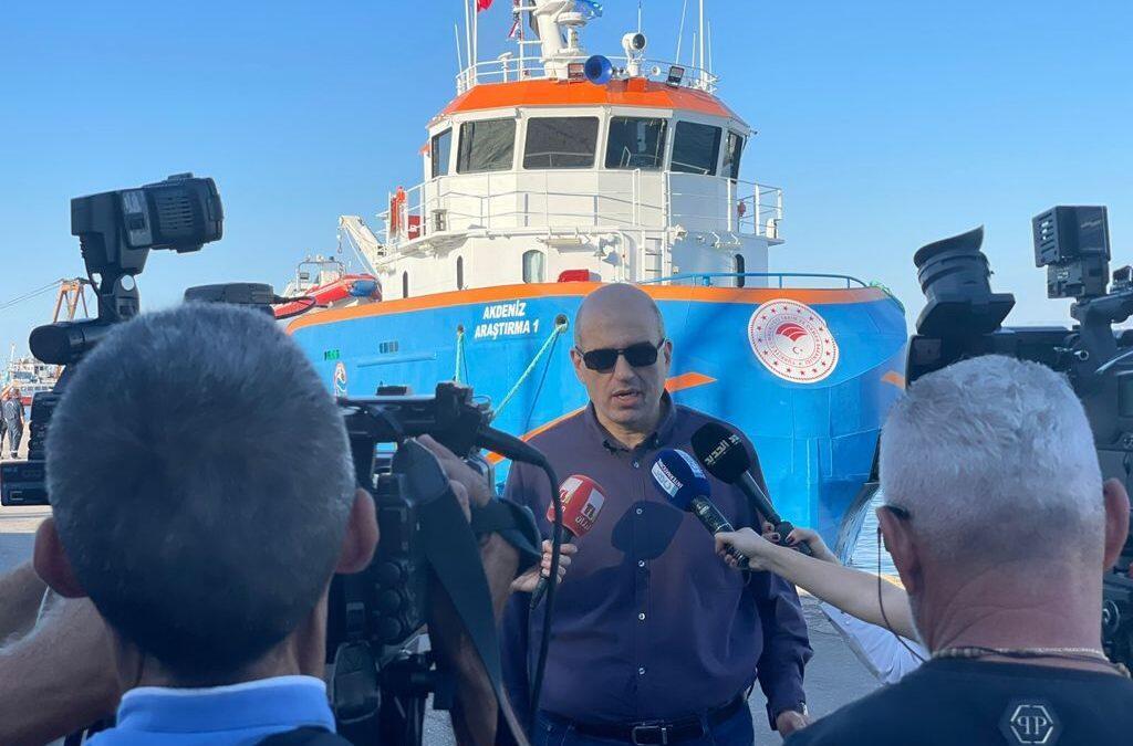لويس لحود تفقد اعمال مسح المخزون السمكي في المياه اللبنانية