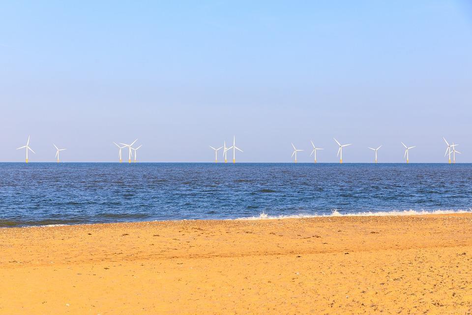 الولايات المتحدة ستبني سبع محطات كبيرة لتوليد الطاقة من الرياح